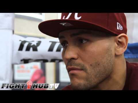 Rios vs Alvarado 2 Mike Alvarado I have a chance to redeem myself