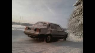 Old DX Corolla Diesel On Ice