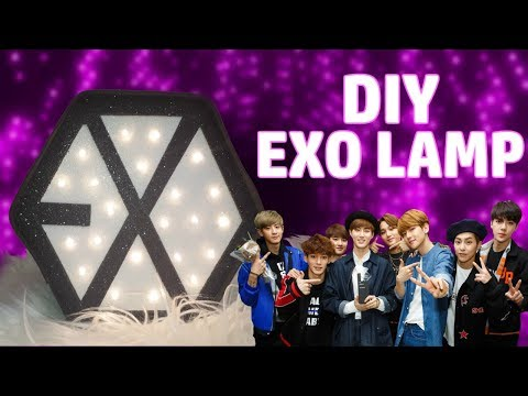 Diy: EXO giant lamp | room  decor