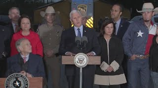 Vice President Mike Pence at First Baptist Church of Sutherland Springs