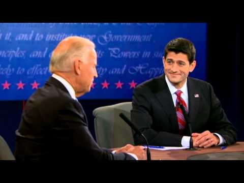 Vice Presidential Debate 2012: Joe Biden Laughs at Paul Ryan's 'Malarkey' on Foreign Policy