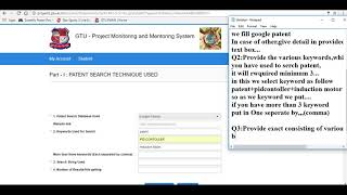 How to fill PSAR report Of GTU PART-1