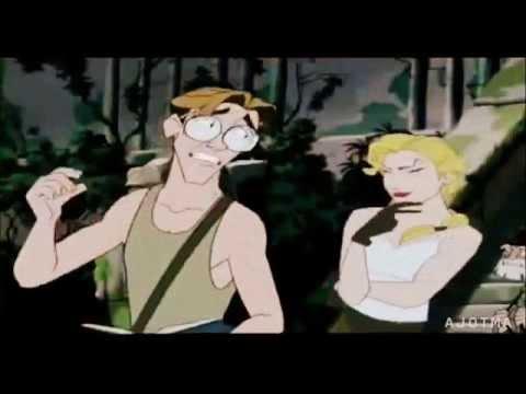 Milo Helga Kiss Helga Sinclair/milo Thatch