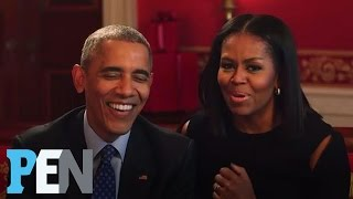 President Obama & Michelle Obama Answer Kids' Adorable Questions | PEN | People