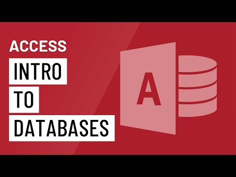 Access 2010: Introduction to Databases