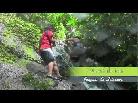 7 WATERFALLS TOUR JUAYUA EL SALVADOR - Travel Video Ep 11