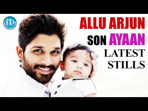 Allu Arjun Son Name Allu Arjun Son Ayaan Latest