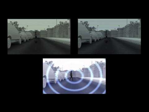 Lexus LS 2013. Система предупреждения фронтального столкновения