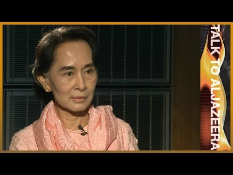 Talk to Al Jazeera - Aung San Suu Kyi: 'There is no rule of law'