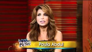[HD] Paula Abdul Interview On Live With Regis & Kelly 09-20-2011 (Part 1)