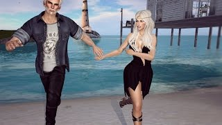 Him and her in Second Life