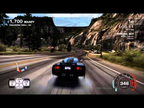 Need for Speed Hot Pursuit 2010 Highway Battle 3:50.39