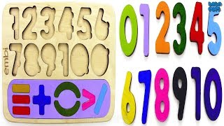 Learn 0 To 10 Numbers For Kids|Counting Numbers|Numbers 0 to 10|123 Counting the Planets