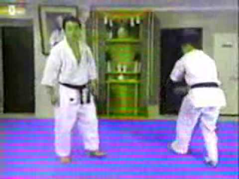 kancho matsui , kyokushin karate instructional video 1-4 Image 1
