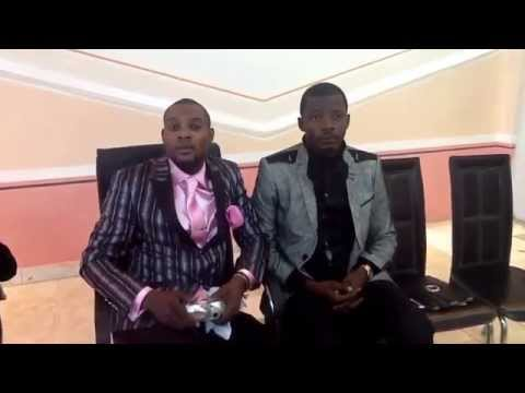 Prophete samuel mususu beni et pastor Landry a Luanda Angola Eglise f.i.m