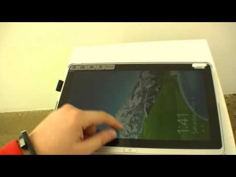 Acer Aspire P3 Ultrabook / Tablet video hands-on from New York press event