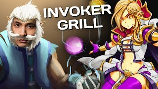 INVOKER GRILL ENEMY (SingSing Dota 2 Highlights #1254)