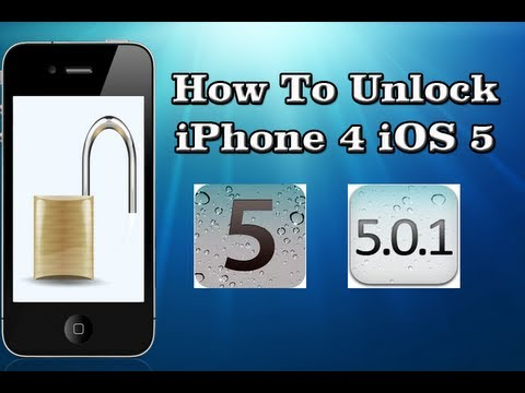 How To Unlock iPhone 4 On OFFICIAL iOS 5.1.1/5.1/5.0.1/5.0 By Preserving Baseband