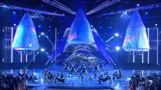 Samantha Jade - Intro Song on The X Factor Australia 2012 - Grand Final Decider 20-11-2012 - (HQ)