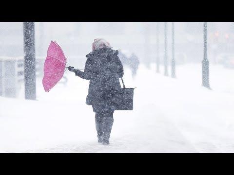 Impresionantes imágenes de la nueva tormenta invernal que paraliza actividades en EE.UU.