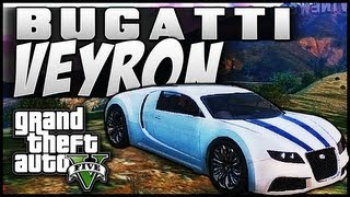 GTA 5 | How to Get the BUGATTI VEYRON - Fastest Car in Game? (Grand Theft Auto V ADDER Secret Car)