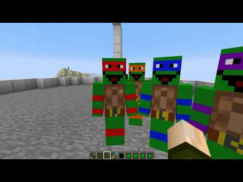 DIBUJOS ANIMADOS! MINECRAFT CARTOON MOD