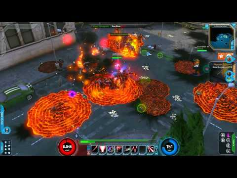 Marvel Heroes - Phoenix Force Cyclops Gameplay