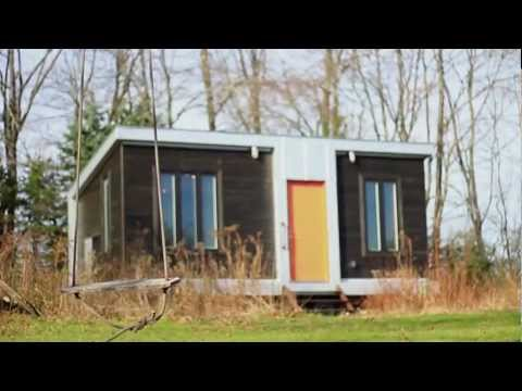 Experience a 220 sq ft tiny home - OffBeat Spaces video