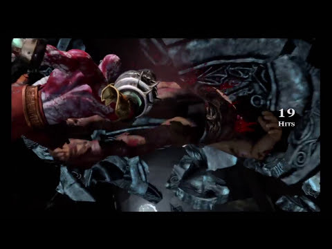God of War 3 - Kratos vs Hercules Boss Battle (HD)