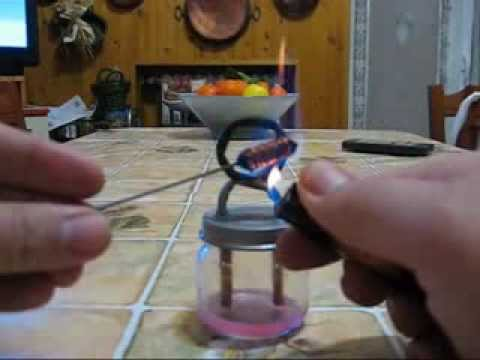 Alcohol stove: Jet stove (no soundtrack)