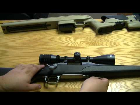 Remington 700 Archangel Stock Instalation