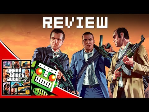 Grand Theft Auto V REVIEW!