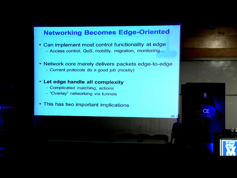 Prof. Scott Shenker - Gentle Introduction to Software-Defined Networking - Technion lecture