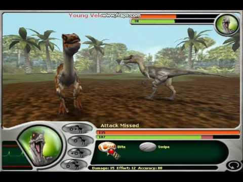Jurassic Park Dinosaur Battles part 1