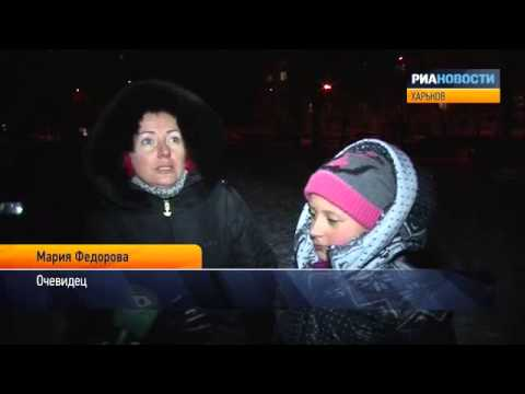 Очевидцы о взрыве и пожаре в многоэтажке Харькова