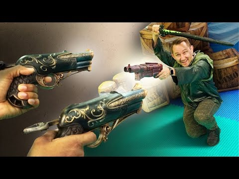 NERF Dungeons & Dragons | Davy Jones' Locker Challenge!
