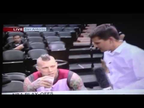 "Chris ""Birdman"" Anderson Rejects BBC Interviewer"
