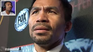 Manny Pacquiao What He Saw In Thurman Eyes In Faceoff