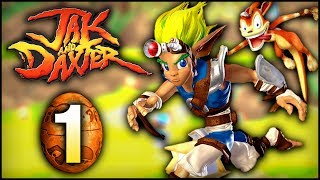 Jak and Daxter (PS4): The Precursor Legacy - Gameplay 100% Walkthrough - Part 1