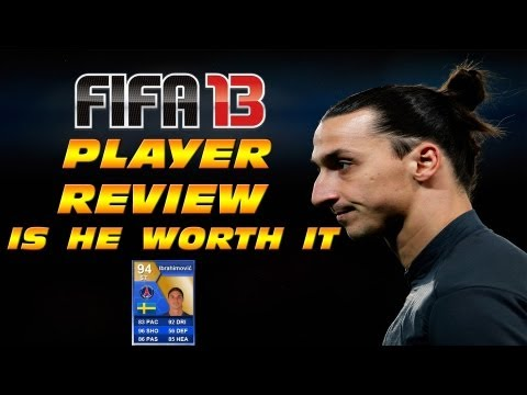 FIFA 13 Ultimate Team - TOTS IBRAHIMOVIC - Player Review