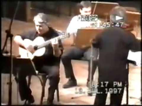 David Starobin, M. Ponce Concerto, CORFU 1997, part 1