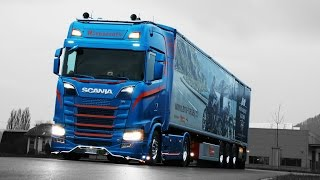 2018 Scania S730 V8 Blue Edition Next Generation