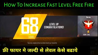 How to increase free fire level fast 2020 || Free fire ka Level kaise badhaye Hindi || RajGaming725