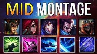 Mid Lane Montage 11 ( Katarina, Yasuo, ZED, Ahri,..) | League Of Legends Mid