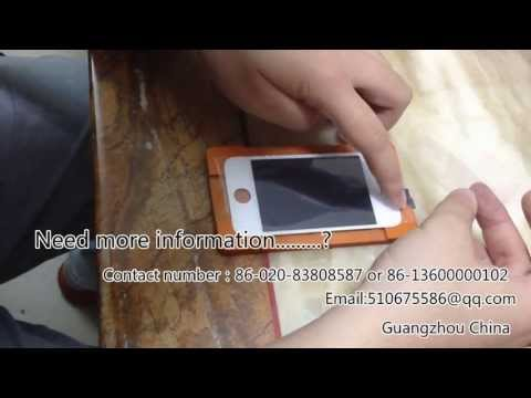samsung galaxy s3 Note2 iphone5 iphone4 touch screen replacement at home!