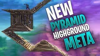 Pyramid Highground Meta - NEW Fortnite META