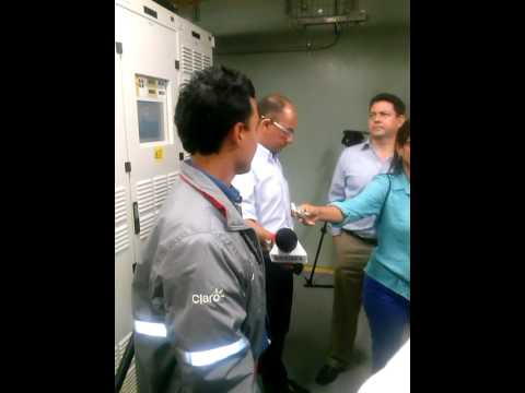 Ingeniero entrega detalles del cable submarino de @ClaroColombia