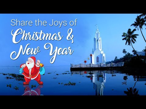 Christmas and New Year Greetings from Kerala Tourism
