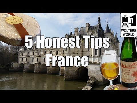 5 Travel Tips for Visiting France