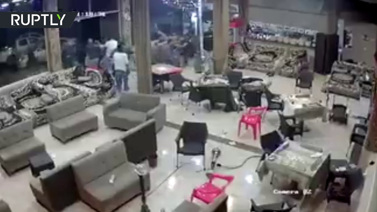 Moment deadly earthquake rocked Iraq & Iran caught on VIDEO